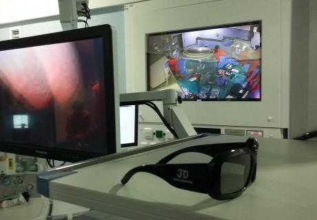 """Cirugía Laparoscópica 3D HD. Noticia en Diario """"El Mundo"""""""