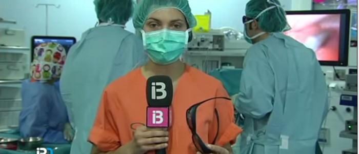 Noticias TV: Cirugía hepática laparoscópica 3D HD